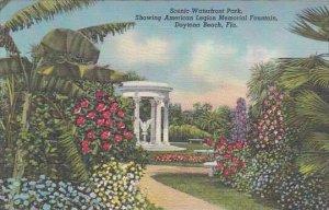 Florida Daytona Beach Scenic Waterfront Park Showing American Legion Memorial...