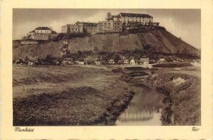 Postcard Ukraine Munkacs fortress view
