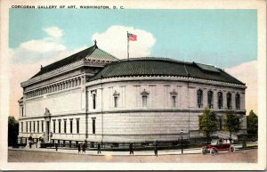 Vtg 1920s Corcoran Gallery of Art Washington DC Postcard