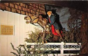 American Heritage Wax Museum Scottsdale, Arizona Patriotic Postcard Post Card...