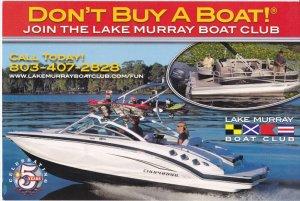 Join the Lake Murray Boat Club , Columbia , South Carolina , 2013