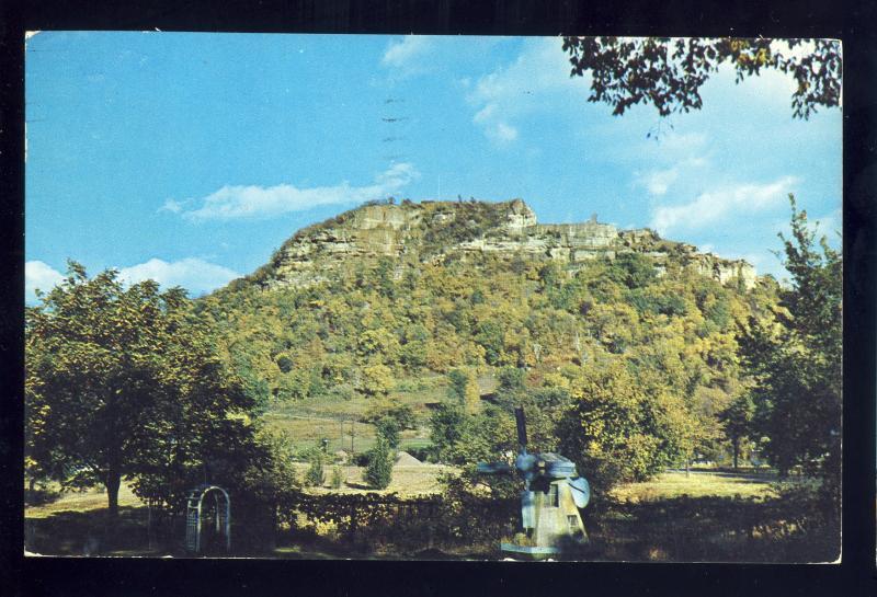 La Crosse, Wisconsin/WI Postcard, Grandad Bluff, 1954!