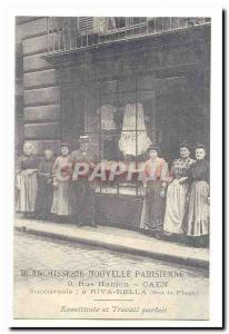 Caen Postcard Old New Parisian Laundry 9 rue Hamon Caen accuracy and perfect ...