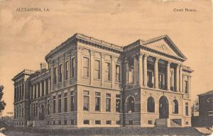 Court House in Alexandria Court House Antique Postcard L500