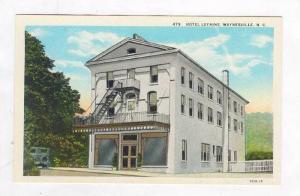 Exterior View, Hotel Lafaine, Waynesville, North Carolina, 1900-1910