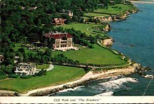 Rhode Island Cliff Walk and The Breakers