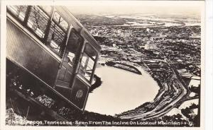 Tennessee Chattanooga Scene From The Incline On Lookout Mountain Real Photo