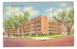 New High School,Quincy,IL / Illinois 1946