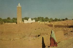 algeria, EL GOLEA MÉNIA, The Mosque, Islam (1950s)