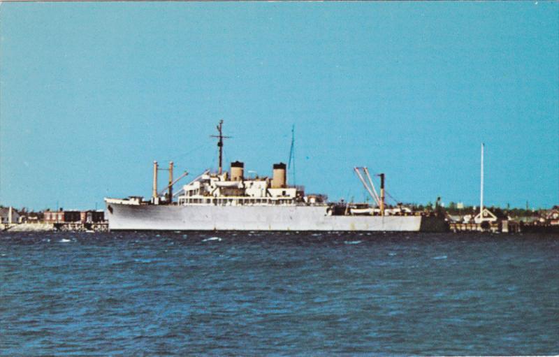 BUZZARDS BAY, Massachusetts, 1940-1960's; U.S.T.S. Bay State Massachusetts Ma...