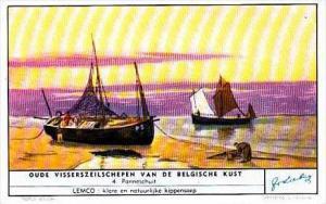 Liebig S1583 Old Fishing Boats No 4 Panneschuit