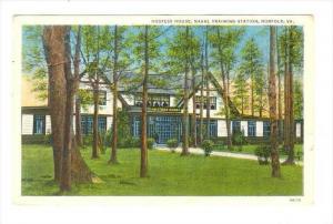 Hostess House, Naval Training Station, Norfolk, Virginia, 1910-1920s