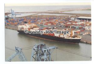 cd0344 - Harrison Line Container Ship - Asian Venture , built 1980 - postcard