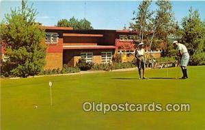Golf Postcard Kiamesha Lake, NY, USA Concord Hotel