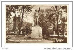 RP Rhodes statue, Botanical Gardens, Cape Town, South Africa, PU 1941