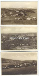 tb0222 - Cornwall - The Bees from High Rd, Helston & Porthmellin - 3 postcards