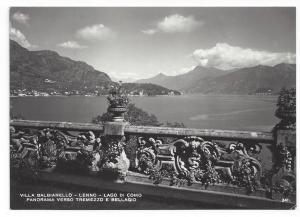 RPPC Villa Balbianello Tremezzo Bellagio Lago di Coma