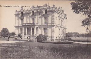 LOROUX, Maine Et Loire, France, 1900-1910's; Chateau Du Loroux