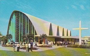 Puerto Rico Ponce Church Santa Maria Reina At Catholic University