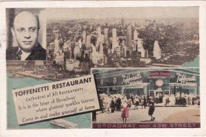 NEW YORK CITY, 1930s; Toffenetti Restaurant