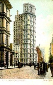 NY - New York City. St. Paul Building
