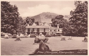 ELANGOLLEN, Denbighshire, Wales, 1900-1910s; Plas Newydd