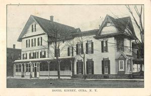 Cuba New York Hotel Kinney Exterior Street View Antique Postcard K23243