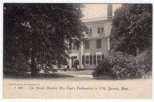 Danvers, Mass, The Hooper Mansion - Rotograph