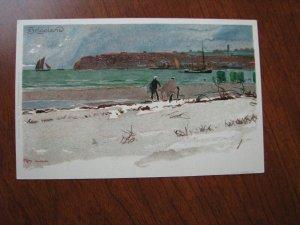 Helgoland German Heligoland Postcard Unused UDB 1900-06 by Velten