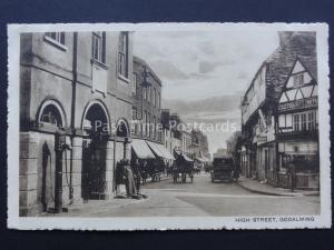 Surrey GODALMING High Street shows EASTMANS LTD Old Postcard by Harold G. Bailey