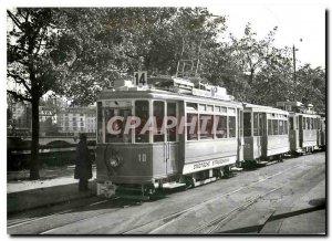 Postcard Modern tram-museum verein zuerich Motorwagen This 10 2/2 der St. St....