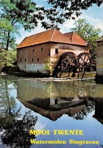 Netherlands Mooi Twente Watermolen Singraven Mill Moule