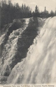 KAKABEKA FALLS , Ontario , PU-1905 ; Water Falls on Canadian Pacific Railway