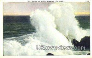 Big Waves - Santa Barbara, CA