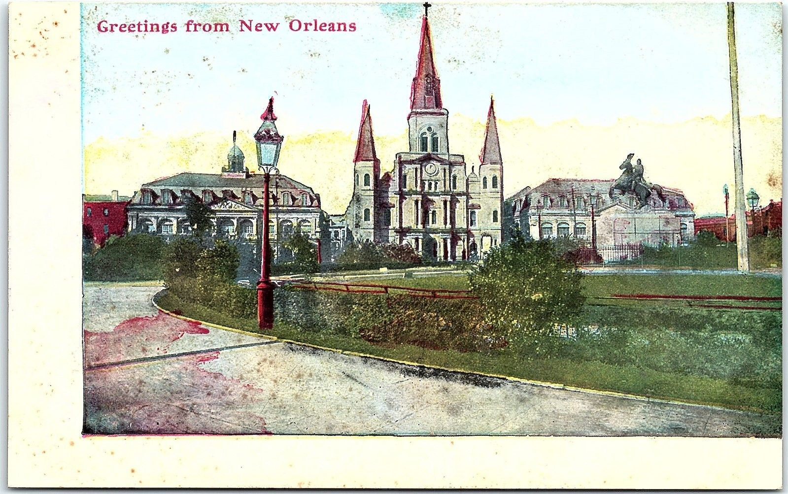 Postcard La Greetings From New Orleans Louisiana Q1 Hippostcard