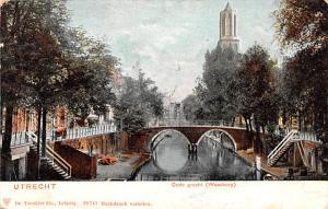 Utrecht Holland Oude gracht Weesburg Utrecht Oude gracht Weesburg