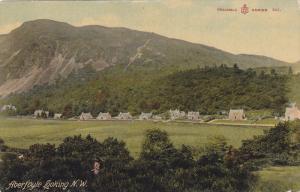 ABERFOYLE, Stirling, Stirlingshire, Scotland, United Kingdom from Looking N. ...