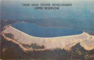 Lesterville Missouri~Aerial of Taum Sauk Power Development~Upper Reservoir 1950s
