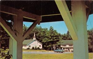 BROADALBIN NEW YORK~SACANDAGA BIBLE CONFERENCE~TEACHING THE WORD POSTCARD 1960s