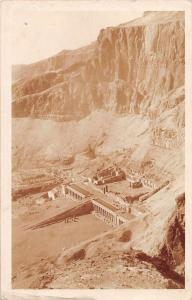Egypt Valley of the Kings Scenic View Real Photo Antique Postcard J45864