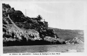 Portugal Serra da Arrabida Saliencia da Estalagem de Santa Maria Postcard