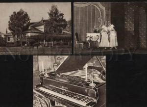 054841 TCHAIKOVSKY Russian COMPOSER Collection 15 postcards