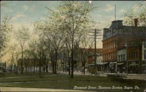 Sayre PA Desmond St. c1910 Postcard