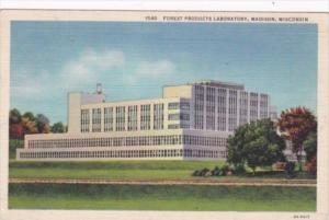 Wisconsin Madison Forest Products Laboratory 1936 Curteich