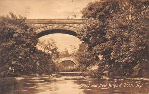 Nuld and New Brigs o' Doon Bridges River Pont Ayr