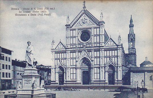 Italy Firenze Chiesa di San Croce