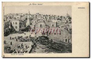 Palestine - Bethlehem - Bethlehem - The Holy Land - the Place Marche - Old Po...