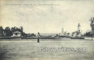 Hudson County park Jersey City NJ 1908