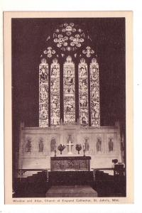 Window and Altar, interior Church of England, St. John's Newfoundland,