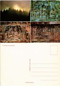 CPM  Indonesie - Borobudur Stupas and Reliefs  (694504)